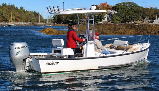 Boat Charters and Fishing Charters from Boothbay Harbor, Maine