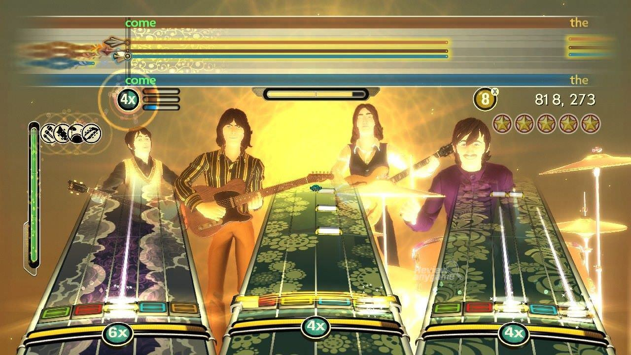 Video Game Review - The Beatles: RockBand | Tech Preview,Tech