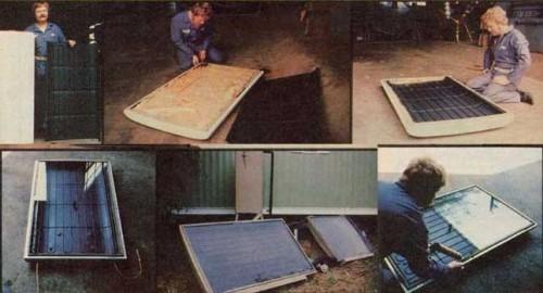 Do-it-Yourself Solar-Powered Refrigerator