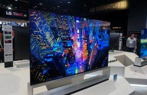 LG releasing 8K TVs this September