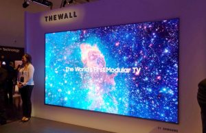 Samsung releases Wall microLED gigantic commercial TV