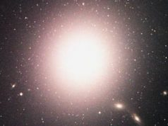 The Galaxy M87 - Elliptical Galaxy with Pronounced Jet in Virgo