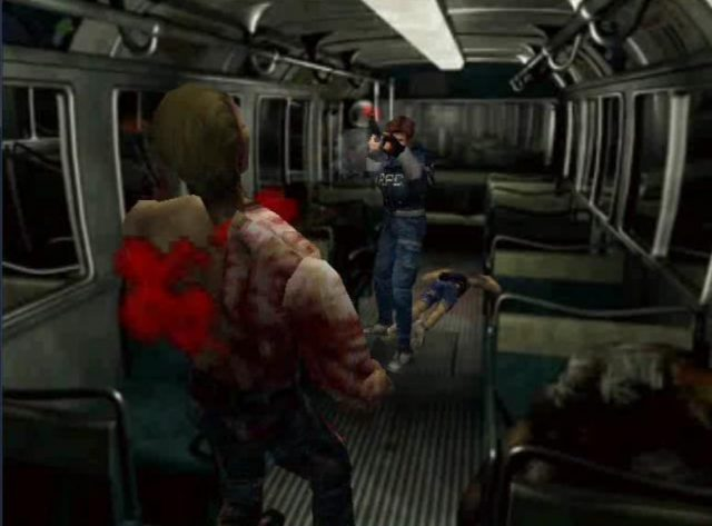Resident Evil Playstation Game from the 90s